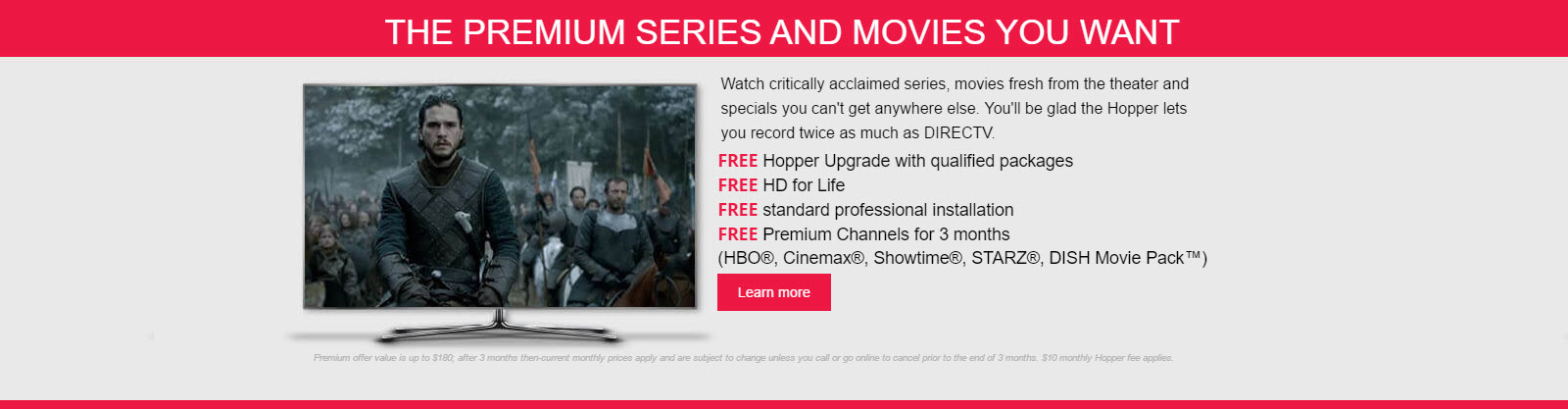 Premium Series and Movies
